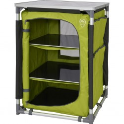 camping cabinet DEFA Single, lime