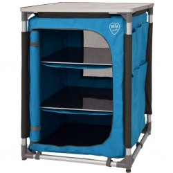 camping cabinet DEFA Single, blue