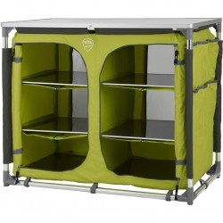 camping cabinet DEFA Double, lime