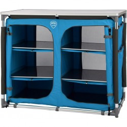 camping cabinet DEFA Double, blue