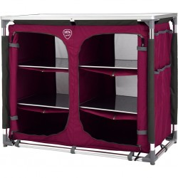 camping cabinet DEFA Double, pink
