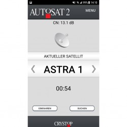 app option for sat system AutoSat 2
