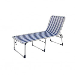 three-legged lounger XXL, blue-grey