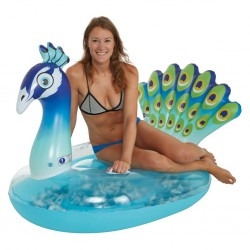 pool float peacock