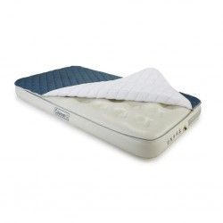 air bed single, with heat protection cover