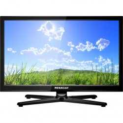 TFT LED flat screen TV DVD combination Megasat Royal Line II 22, 12/ 230 V