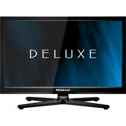 TFT LED flat screen TV/DVD combination Royal Line II 22 Deluxe