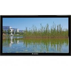 TFT LED flat screen TV/ DVD combination Caratec Vision CAV240P-D, 12 / 230 V