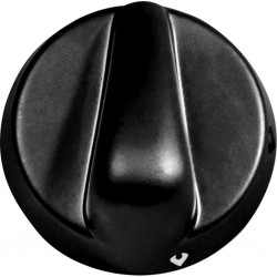 Control Knob, black for...