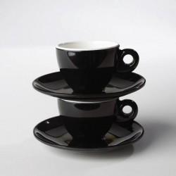 Espresso-Set Black and White
