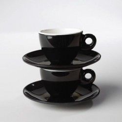 Espresso-Set Black and White