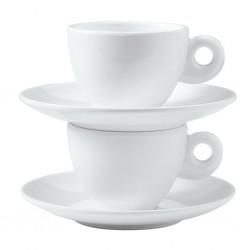 Espresso-Set Edelwei�