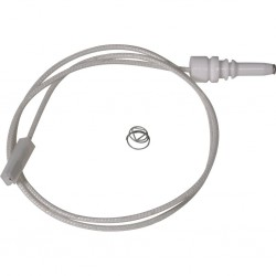 ignition electrode, new, length 40 cm, with flat plug for Dometic hobs and combinations