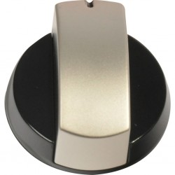 control knob, silver, for Dometic hob HB 2370, 3370, HBG 3440, combinations HS, ovens OG 2000, 3000