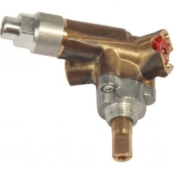 gas tap, angled for large burner for Dometic combinations, old and HSG 2370