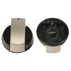 control knob, silver, for Dometic hob HB 2325 and HB 3400