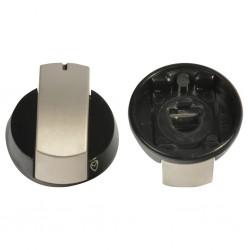 control knob, silver for Dometic hob HBG 2335