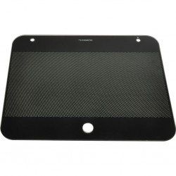 glass lid for Dometic combination HSG 2370, sink right, dimensions combination 90 x 37 cm