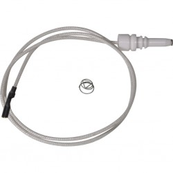 ignition electrode, new, length 26 cm, with round plug for Dometic hobs and combinations