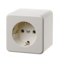 Schuko Surface Socket