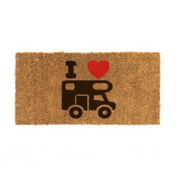 Coconut Doormat with Motorhome