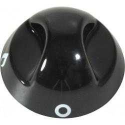 Control Knob, black for hob...