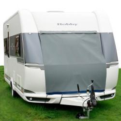 caravan prow protection cover Wintertime