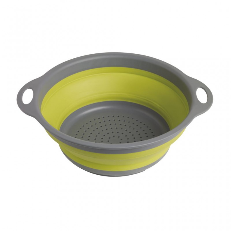Collaps Folding Strainer Green