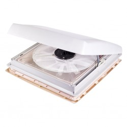skylight, transparent with ventilator, 12 V