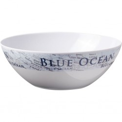Salad Bowl Blue Ocean