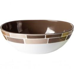 bowl 23.5 cm Chocolate