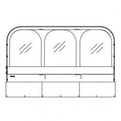 Window Insert Front Thule QuickFit 3.6 m
