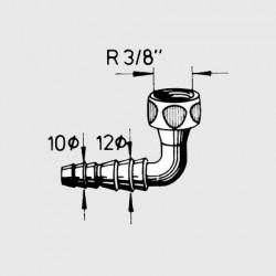 Brass Nozzle 90Β°