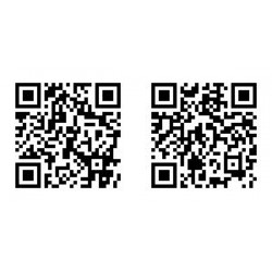 via the QR-Codes, videos for application possibilities (left) as well as installation (right) of the Thule Panorama can be opened.