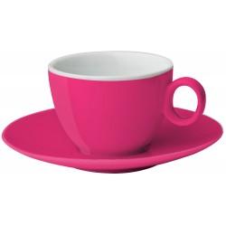 Espresso cup&saucer pink