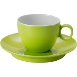 Espresso cup&saucer green