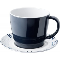 Cup and saucer Blue Ocean