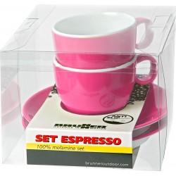 Σετ φλυτζάνι Espresso ροζ...