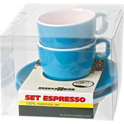 Σετ φλυτζάνι Espresso μπλέ...