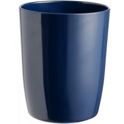 Bin dark blue