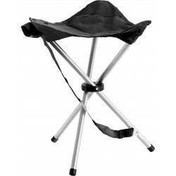 Tripod stool Niro (black)