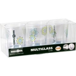 Set Multiglass Sandhya (3pcs)