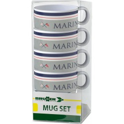 Set mugs Marine (4pcs)