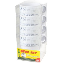 Set mugs Blue Ocean (4pcs)