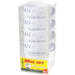 Set mugs Blue Ocean (4pcs)