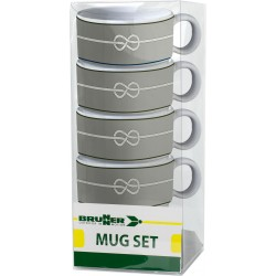 Set mugs Nautical (4pcs)