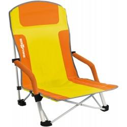 Strandstuhl Bula (orange/gelb)