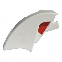Lead Bar End Cap Right Polar White