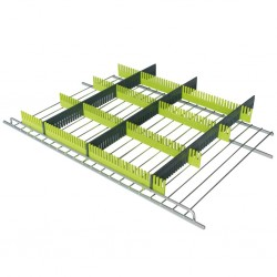 Storage Strip for Refrigerators (by grating with mounting)