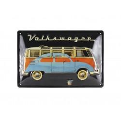 VW T1 BUS METAL SIGN -...